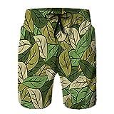jiilwkie Summer Men 'Casual Athletic Beach Board Shorts Struttura Militare Lascia la camma dell'Esercito M