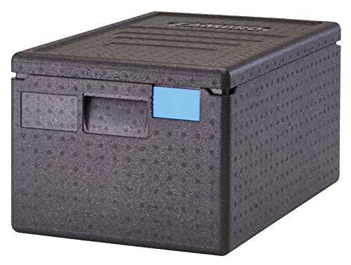 CAMBRO - Contenedor isotérmico con carga superior Cam Gobox GN 1/1 46 L - 60 x 40 x 31,6 cm (M.Ext) - 53,8 x 40 x 25,3 cm (M.Int) - Negro