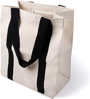 comprar comparacion BagCouture Elegante Bolsa de Transporte espaciosa, Bolsa de algodón, Bolsa de la Compra, Bolso con Gran Base y asa Larga, ...