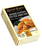 Ramon Franco Conservas   Mejillones en Escabeche   Galician Mussels in Olive Oil and Vinegar   Rías Gallegas, Spain   12-16 Pieces per 115g Can