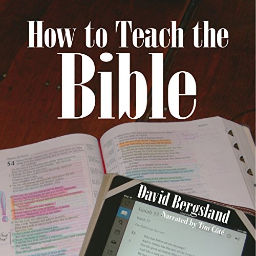 How to Teach the Bible audiobook cover art