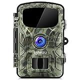 """SVMUU Wildkamera 14 MP 1080P Jagdkamera Beutekameras 2.4"""" LCD mit 940nm IR LED's Sensoren mit Bewegungsaktivierung -"""