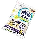アイリスオーヤマ システムトイレ用 におわない消臭サンド クエン酸入り ホワイトソープの香り 猫用 6リットル (x 1)