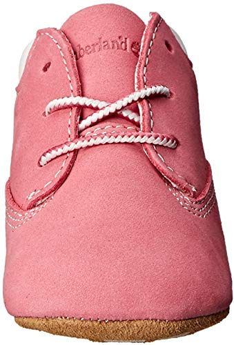 Timberland Unisex Baby Chukka Boots mit Hut , Pink (Medium Pink Nubuck), 20 EU