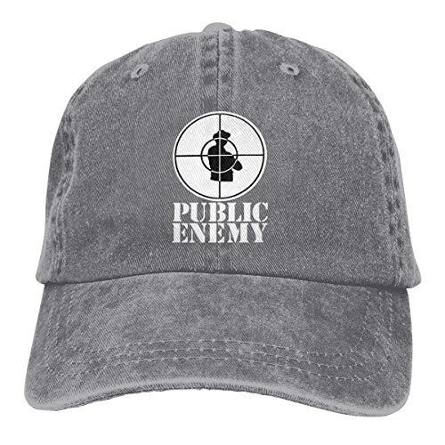 Enemigo público Gorras de béisbol Ajustables Sombreros de Mezclilla Sombrero de Vaquero Retro...