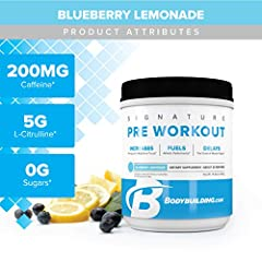 DELAY MUSCLE FATIGUE: Carnosyn Beta-Alanine and caffeine are found in our Pre Workout to protect your muscles against lactic acid. We help keep your soreness down and your energy up INCREASE PERFORMANCE: L-Citrulline and L-Leucine circulate oxygen be...