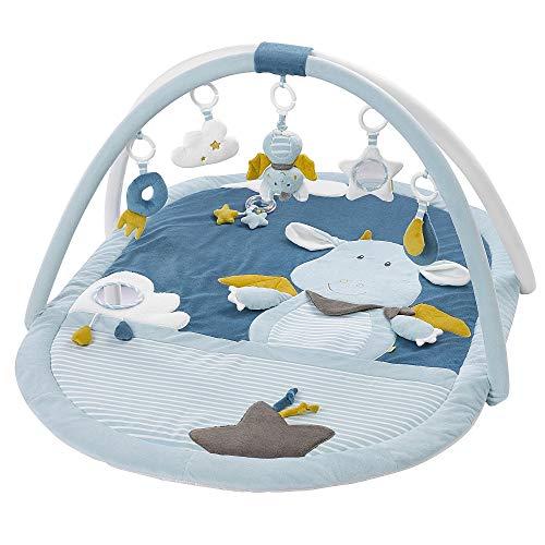 Fehn 065091 Little Castle 3D Activity Blanket, Blue