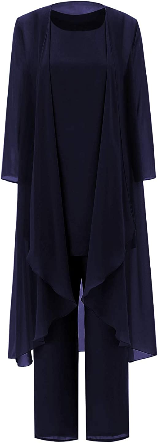 Fitty Lell Women's Three-Pieces Mother お洒落 Of The Bride Dress ふるさと割 Pants