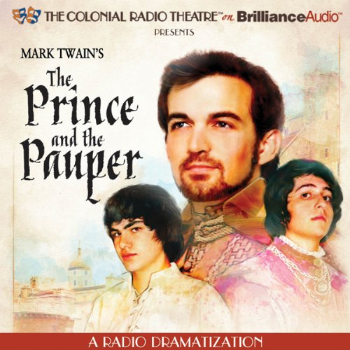 Mark Twain's The Prince and the Pauper audiobook cover art