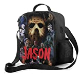 Bibuwaw Lunch Box Jason Voorhees - Friday The 13th Portable Insulated Bag Tote...