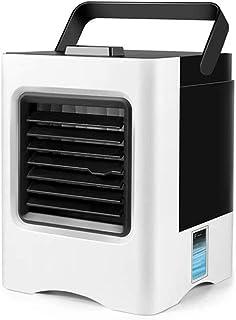 Radiador portátil Mini Usb Ventilador eléctrico Aire acondicionado silencioso Ventilador de aire acondicionado 4 en 1 3 velocidades Ventilador de aire acondicionado personal portátil
