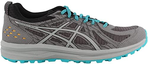 ASICS 1012A022 Wohommes Frequent Trail Running chaussures, Carbon Stone gris - 9.5