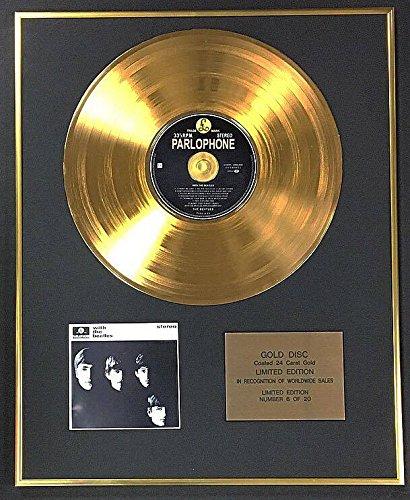 Limited Edition Goldene Schallplatte (24 Karat) The Beatles