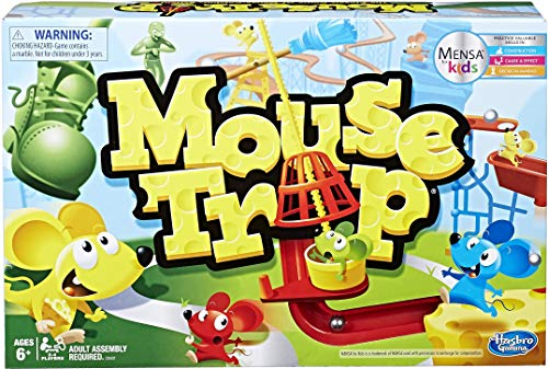 Hasbro Gaming Mouse Trap Game,Brown