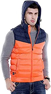 Electric Heating Vest Men and Women Washable Heated Clothes Vest for Outdoor Skiing Hiking Hunting Motorcycle Camping