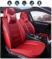 カーシートクッション 互換性を持つカスタムメイドカーシートカバー本革、防水透湿性カスタム正確なフィットフルセットカーシートカバー、フロント&RearSeatカバー、アウディA1 カーシートプロテクター (Color : D, Size : 2018)