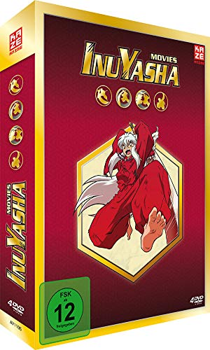 InuYasha - Movie Box (4 DVDs)