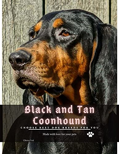 Black and Tan Coonhound: Choose best dog breeds for you (English Edition)