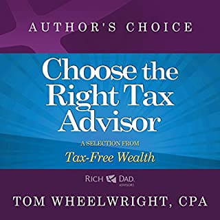 Choose the Right Tax Advisor and Preparer audiobook cover art
