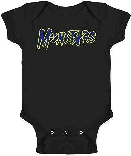 Monstars Basketball Halloween Costume Infant Baby Boy Girl Bodysuit