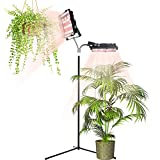 ACKE Floor Lamp for Indoor Plants,2 Light Floor Plant Light 70W for Indoor Gardening,Standing Grow Light for Houseplants