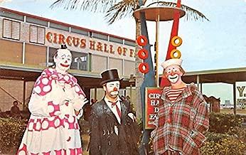 Circus Hall of Fame, Sarasota Florida USA Clown Circus