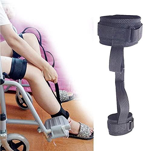 WXQY Bein Gurt Oberschenkelheber Riemen Beinheber Fußheber Gurt Handgriff Schleife für Erwachsene, ältere Menschen, Behinderte Und Genesung