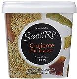 Santa Rita Pan Rallado, Cracker Muy Crujiente - 6 Paquetes de 300 gr - Total: 1800 gr...