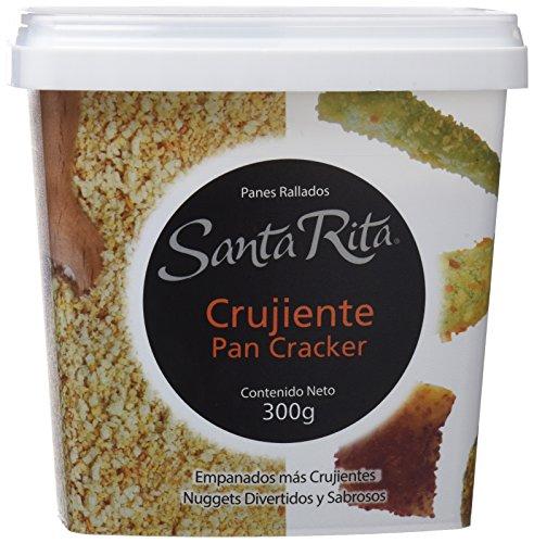 Santa Rita Pan Rallado, Cracker Muy Crujiente - 6 Paquetes de 300 gr - Total: 1800 gr