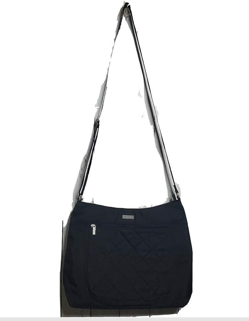 Baggallini Women's Quilted Voyager Hobo Tote Crossbody Shoulder Bag Black