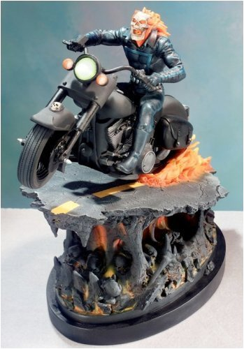 Ghost Rider Painted Statue from Marvel Comics by Bowen Designs image