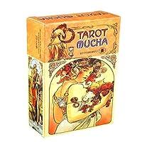 完全英語版のタロットデッキとEGuideブックEinstructionカードゲーム運命告知ゲームセット運命予測カードゲーム