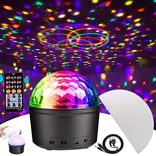 Cracklight LED-Disco-Lichter, Drei-in-einem 9-Farben-Bluetooth + Musik-Lichter + Nachtlicht Mit Sound-aktivierter Fernbedienung Für Weihnachten, Bar, Party, Club, Auto, Weihnachten, Geschenk Für good