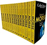 Inspector morse mysteries series colin dexter 14 books collection set pack