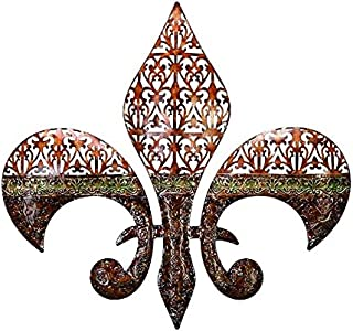 Deco 79 Metal Wall Decor Excellent Fleur Di Lis on Metal Wall Decor