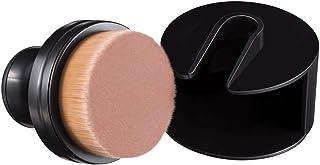 ligangam メイクブラシ ファンデーションブラシ コスメ 化粧筆 フェイスブラシ メイクブラシセット プロメイクアップブラシ 品質保証 専用ケース付き(クリーム、クリーム、リキッド、パウダー用ブラシ) 最高級の人造繊維毛を100%使用 サークル型 携帯 ブラック