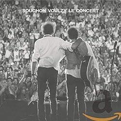 Voulzy Souchon - Le Concert (2CD + Blu-ray)