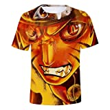 Verano 3D Camiseta niño niña niños Naruto Serie Moda Streetwear Hombres Mujeres niños Manga Corta Camiseta Estampada Cool Tops tee