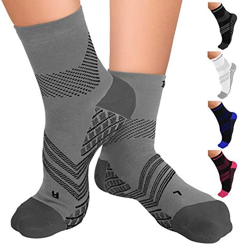 TechWare Pro Plantar Fasciitis Sock Therapy Grade Targeted Cushion Compression Socks Men Women product image