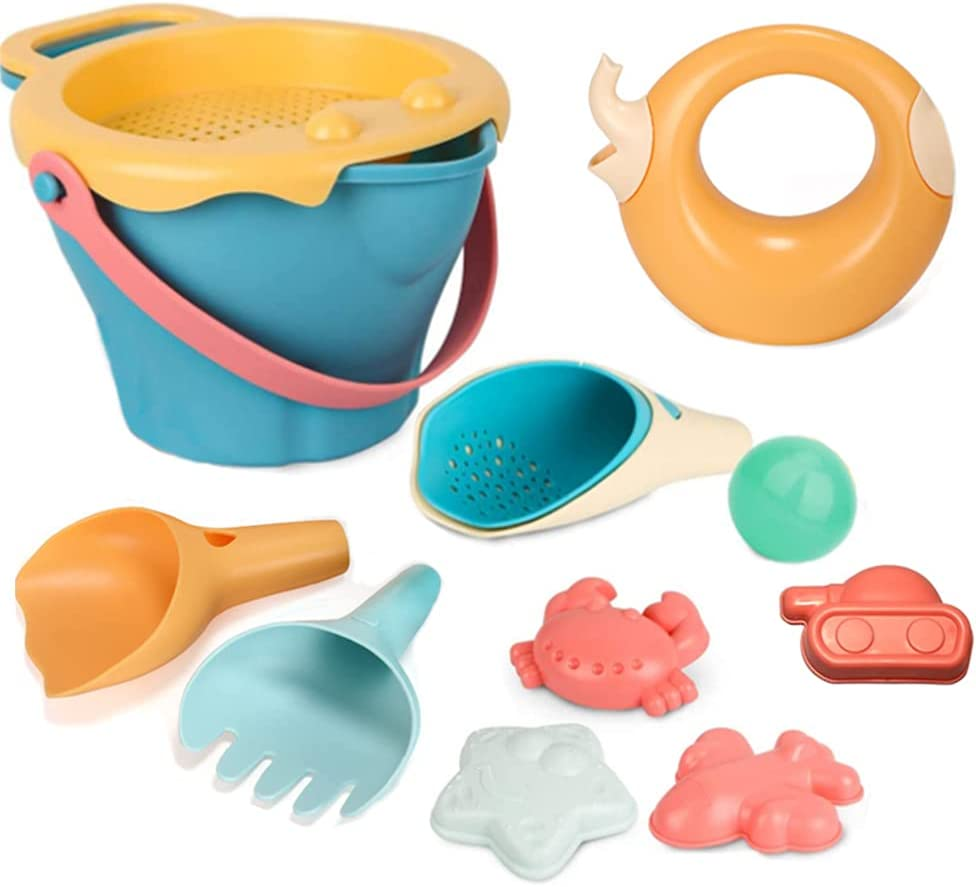 Fort Worth Mall CiZeby 12Pcs store Beach Toys Sand Bucket for Includes Kids Set
