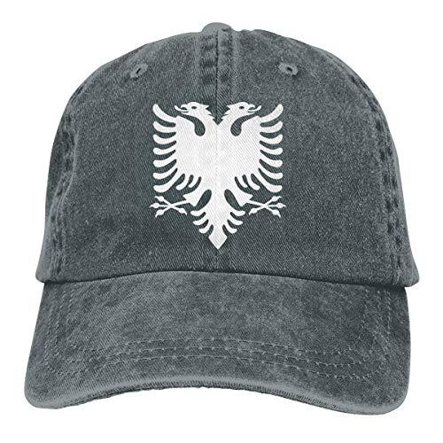 KLING Gorra de béisbol para Hombres y Mujeres, Gorra de algodón Ajustable para Mujeres albanesas Sombrero de...