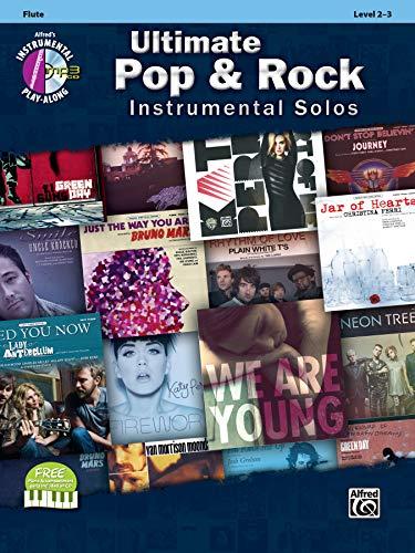 Ultimate Pop & Rock Instrumental Solos: Flute, Book & CD (Ultimate Pop...