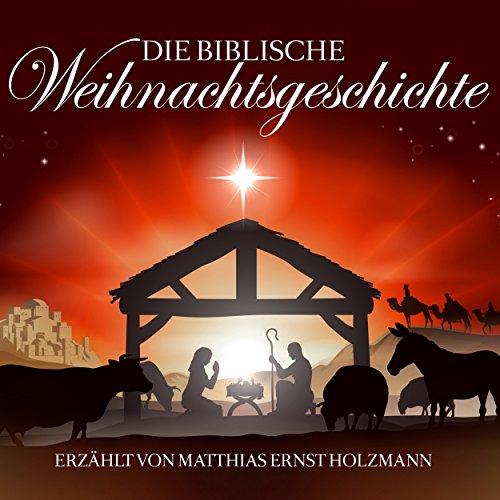 Die biblische Weihnachtsgeschichte audiobook cover art