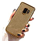 Miagon 2-1 Coque Glitter pour {Huawei Honor V20/View 20},Bling Brillant Ultra Mince Placage...