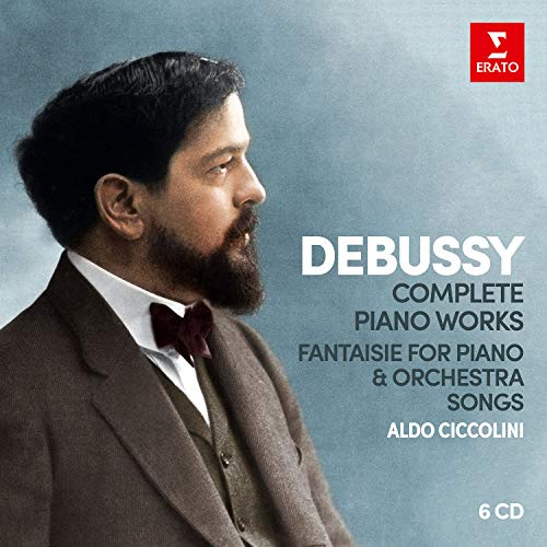 Alessandra Marc, Deborah Voigt, Juliane Banse - Debussy: Complete Piano Works (Box) (8 CD)