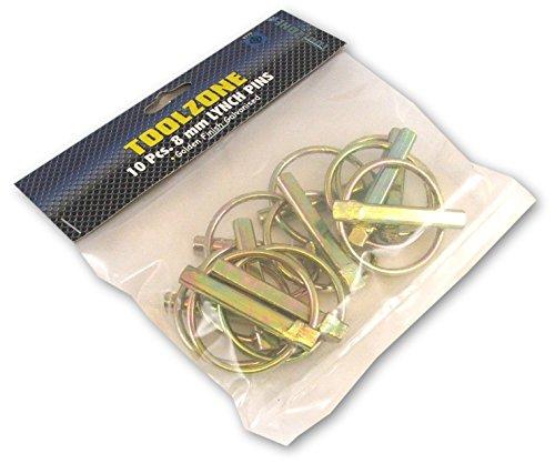 Toolzone 10PC 8mm Lynch pins