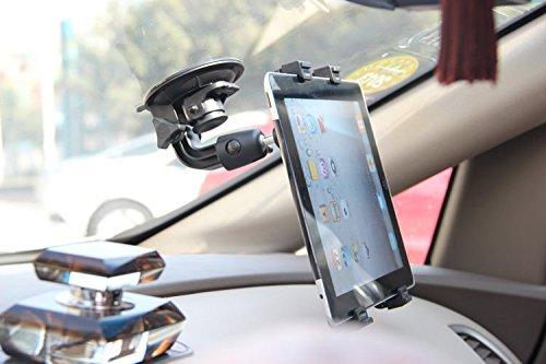 Zwarte Tablet Winscreen Voorruit Houder Met Zuignap Geschikt voor Vrachtwagens, Auto's, Tractoren, GPS-houder Voor AcGoSp COCO Parfum 7