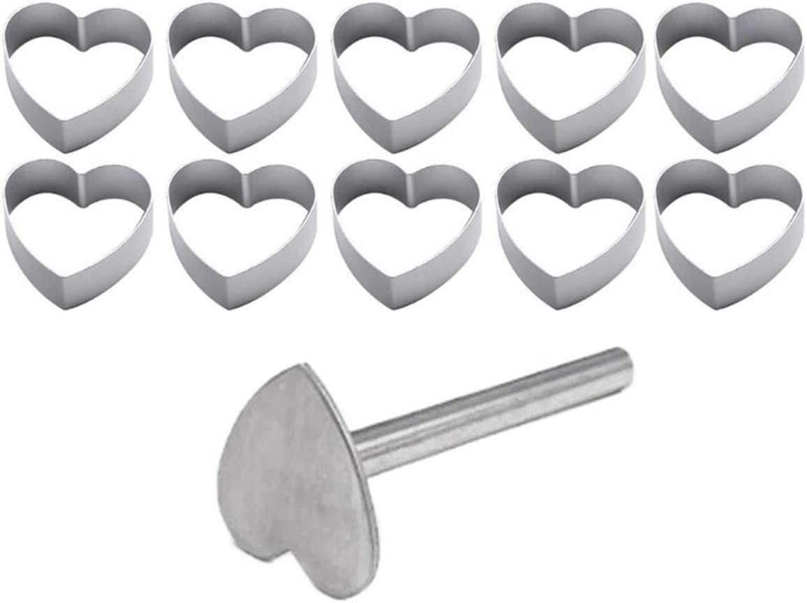 Safety and trust LUOHUO Stainless Steel Cake Mold Biscuit Ellipse Rectangle Stamp Limited time trial price