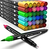 Coloring Markers Set for Adults Kids Teen 36 Dual...