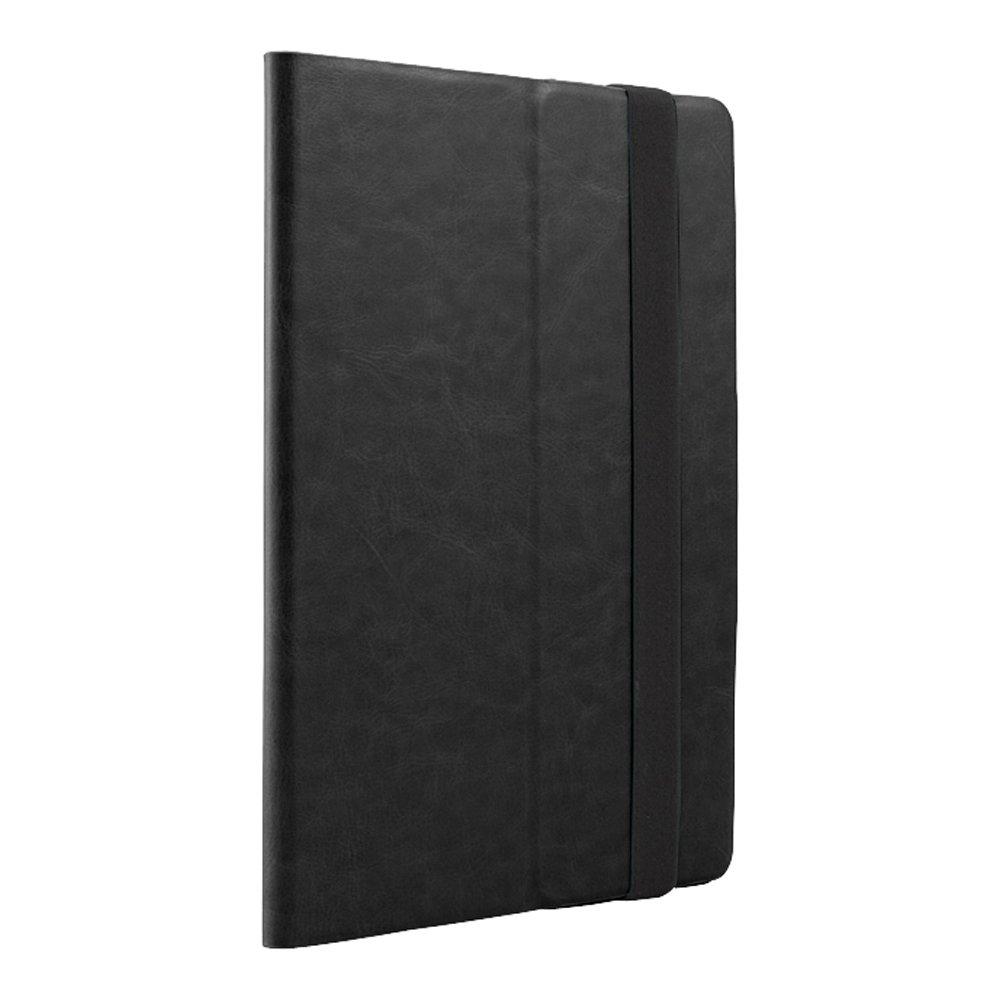 アナログおびえた幸運なことにiBUFFALO iPad Air専用 レザーケース マルチアングル 液晶保護フィルム付 ブラック BSIPD13LMBK